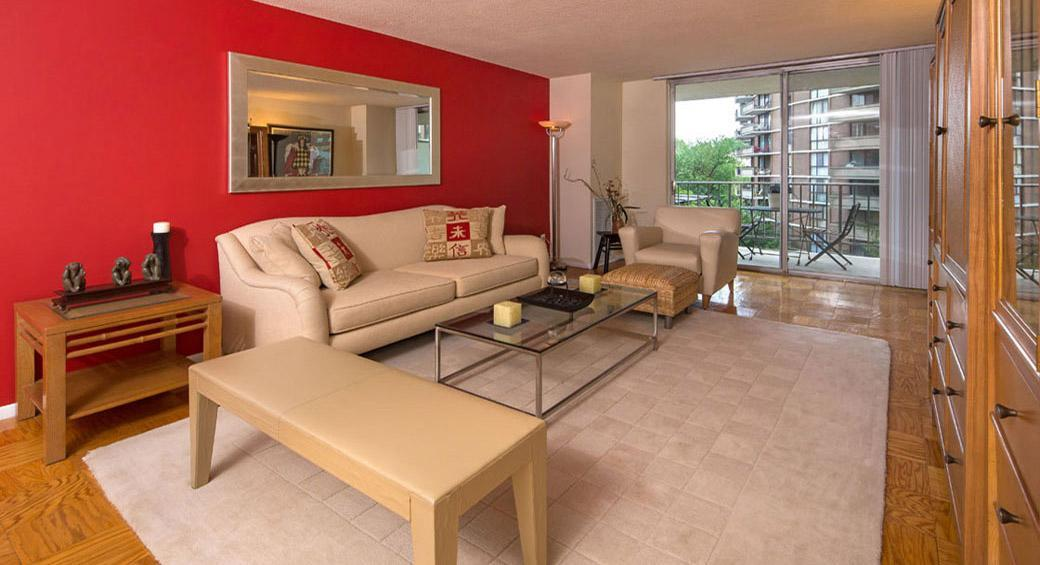 4615 N Park Ave #001-1102, Chevy Chase, MD - $2,580 USD/ month