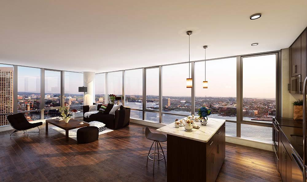 25 Northern Avenue #1912, Boston, MA - $3,253 USD/ month