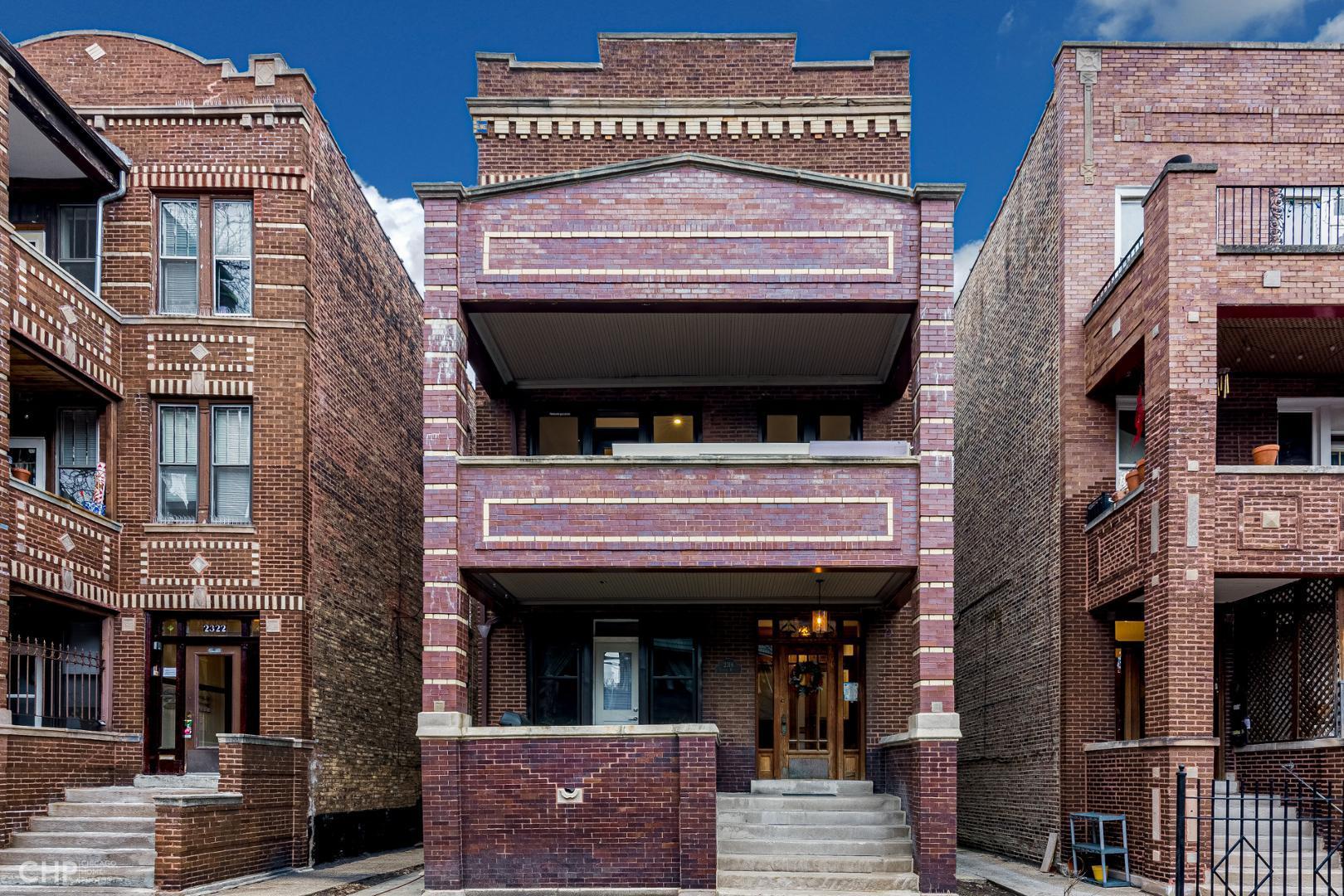 2318 W Thomas #1, Chicago, IL - $2,450 USD/ month