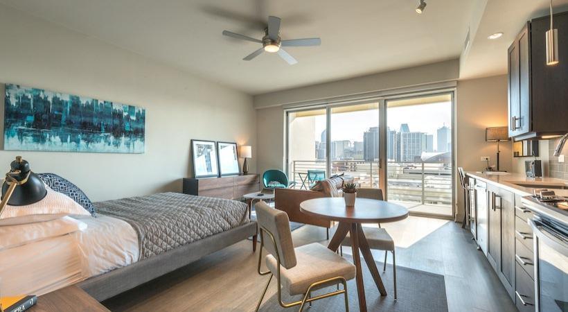 3111 North Houston Street #910, Dallas, TX - $3,805 USD/ month