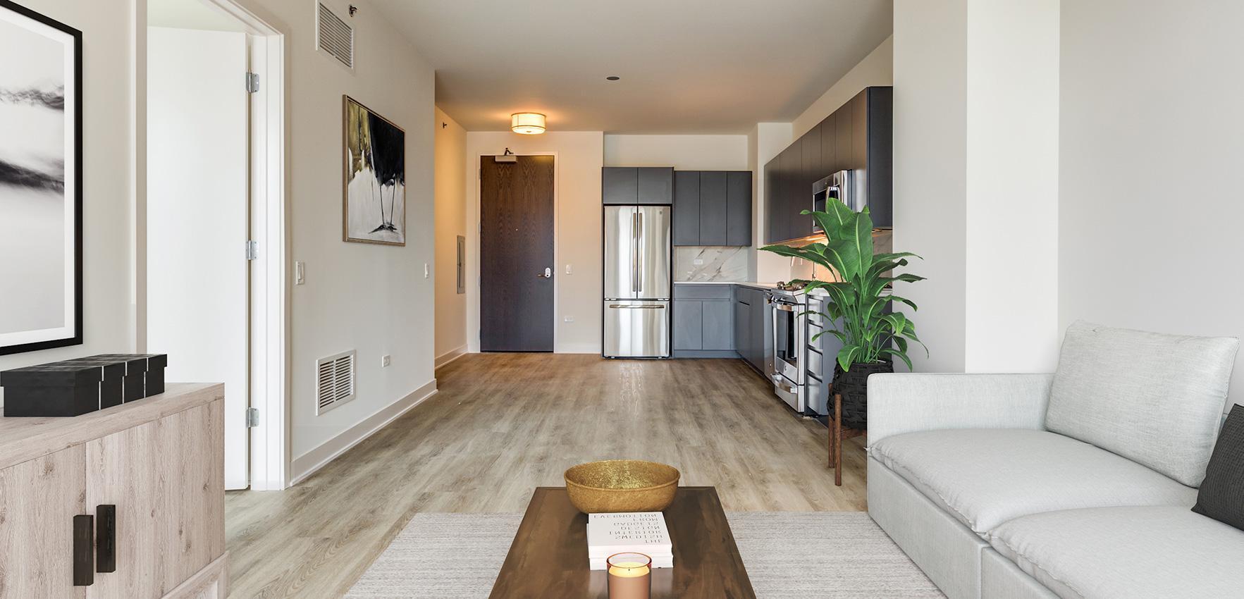 740 N Aberdeen St #0711, Chicago, IL - $2,405 USD/ month