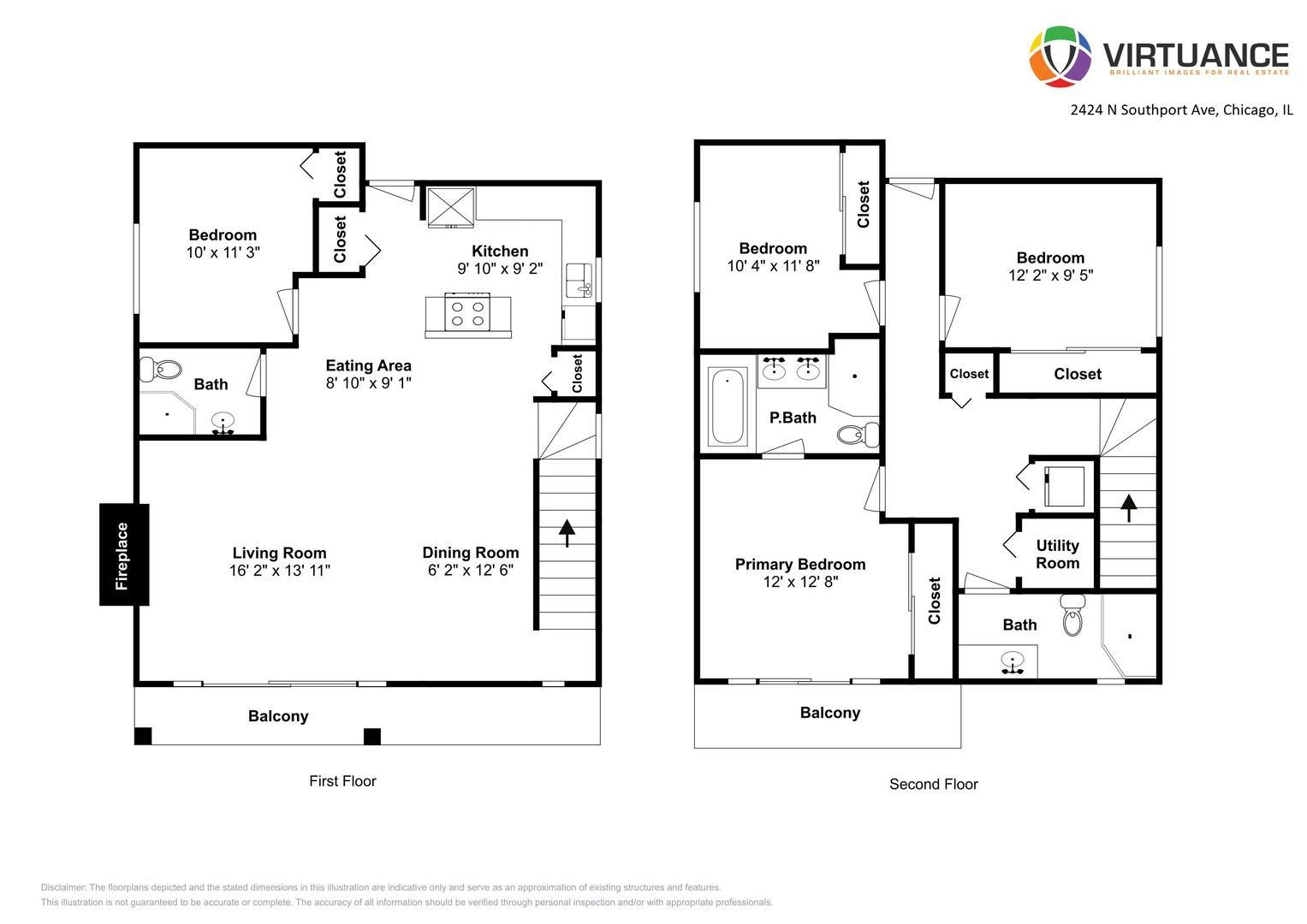 2424 N Southport Ave #B, Chicago, IL - 4,500 USD/ month